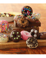 Chocolate-Dipped Mini Donuts by Harry & David