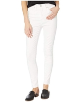 Madewell 10 High-Rise Skinny in White Clean (Pure White) Women's Shorts