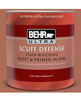 Amazing Deals On Behr Ultra 1 Gal Bxc 39 Sunset Orange Extra Durable Flat Interior Paint And Primer In One