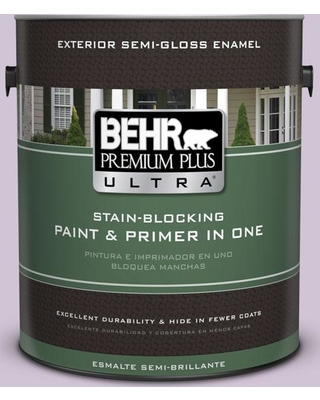 BEHR ULTRA 1 gal. #M100-2 Seedless Grape Semi-Gloss Enamel Exterior Paint and Primer in One