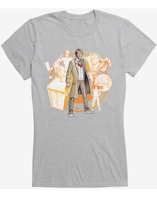 Doctor Who The Fifth Doctor Girls T-Shirt