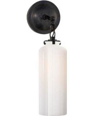 Visual Comfort and Co. Thomas O'Brien Katie 5 Inch Wall Sconce - TOB 2225BZ/G3-WG