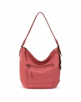 Women's Sequoia Leather Hobo - Dusty Coral