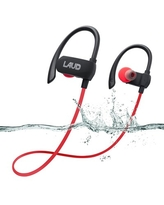 LAX Gadgets Laud Active Sport Water Resistant Bluetooth Earbuds for Gym, Workouts, Running, Red (LAUDACTV1-RED) | Quill