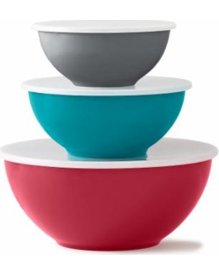 Food Network™ 6-pc. Mixing Bowl Set with Lids, Multicolor