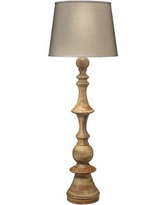 Jamie Young Low Country Budapest Natural Wood Floor Lamp