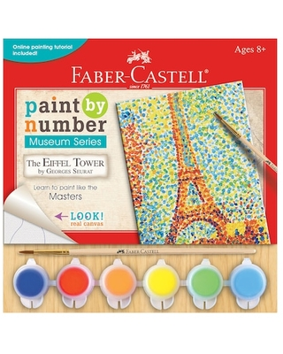 Faber-Castell® Paint By Numbers Museum Series Kit, Eiffel Tower | Michaels®