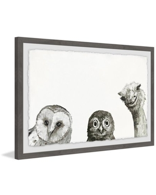 Marmont Hill The Big Eyes Framed Wall Art
