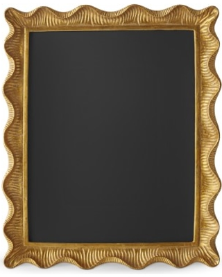 60062605251e New Deals on AERIN Gold Scalloped Gallery Frame