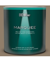 Savings On Behr Marquee 1 Qt Home Decorators Collection Hdc Nt 09 Basic Khaki Semi Gloss Enamel Interior Paint Primer
