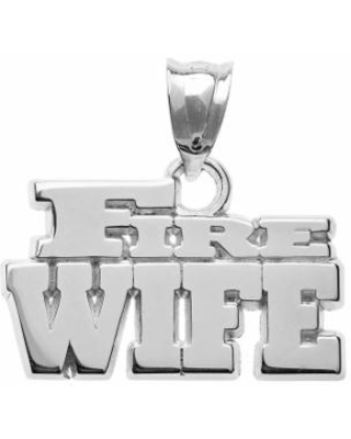 """""""Insignia Collection Sterling Silver """"Fire Wife"""" Pendant, Women's"""""""