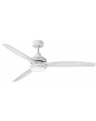 Hinkley Lighting Artiste Outdoor Rated 60 Inch Ceiling Fan with Light Kit - 900160FMW-LWD