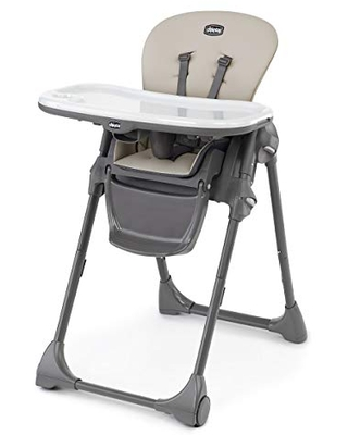 Chicco Polly Highchair - Taupe