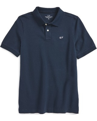 vineyard vines Classic Pique Cotton Polo, Size Xl in Vineyard N at Nordstrom