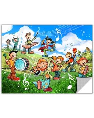 """Luis Peres """"Music Kids"""" Removable Wall Art Graphic"""