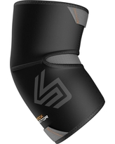Shock Doctor Elbow Compression Sleeve w/ Extended Coverage, Size: Large