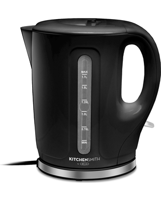 KitchenSmith by Bella Electric Tea Kettle - Black