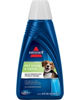 Bissell 2X Pet Stain & Odor 32oz. Portable Spot & Stain Cleaner Formula, Blue Clear