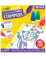 Crayola Washable Paint Stampers, Kids Paint Set, Gift for Boys & Girls, Ages 6, 7, 8, 9 - N/a