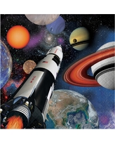 16ct Space Blast Napkins, Disposable Napkins