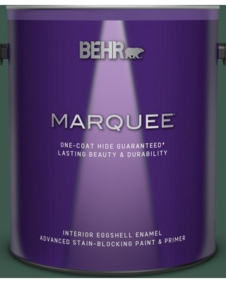 BEHR MARQUEE 1 gal. #QE-40 Alpine Eggshell Enamel Interior Paint and Primer in One