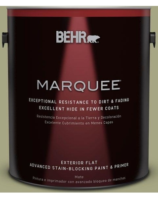 Behr Marquee 1 Gal S370 4 Rejuvenation Flat Exterior Paint And Primer In