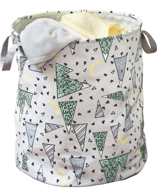 Honey-Can-Do Adventure Collapsible Laundry Hamper with Handles, Gray