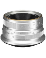 7artisans Photoelectric 25mm f/1.8 Lens for Fujifilm X (Silver) A103S