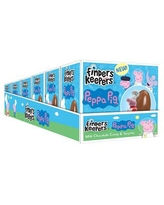 Finders Keepers Chocolates Peppa Pig Milk Chocolate Candy Egg Toy Surprise, 6 Count, Pack of 2