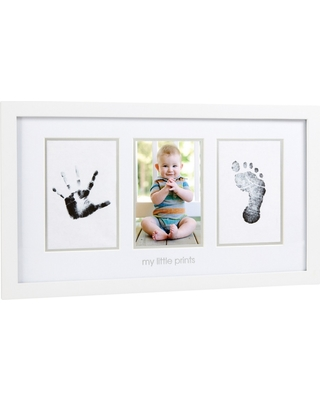 Great Deals on Pearhead Babyprints Photo Frame - White