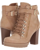 G by GUESS - Grazzy (Camel) Women's Lace-up Boots