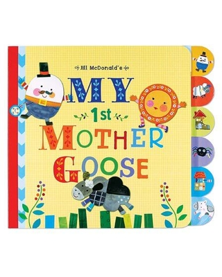 C  R  Gibson Mother Goose Board Book - Baby Toys & Gifts for Babies - Fat  Brain Toys from Fat Brain Toys   People
