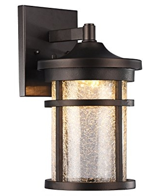 Chloe CH22L52RB11-OD1 Outdoor Wall Sconce, Rubbed Bronze