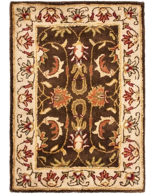 Safavieh Heritage Brown/Beige 2 ft. x 3 ft. Area Rug