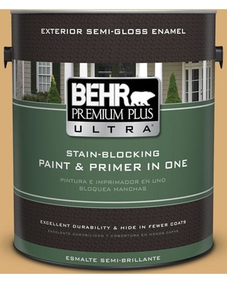 BEHR ULTRA 1 gal. #M280-5 Inheritance Semi-Gloss Enamel Exterior Paint and Primer in One