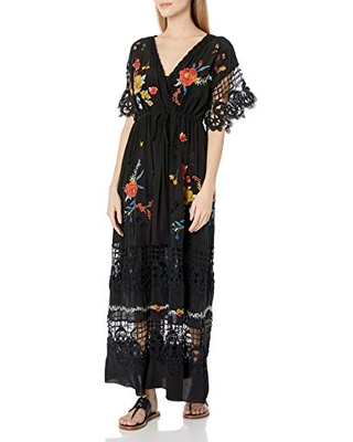 for Love and Liberty Women's Dress, Black, X-Large