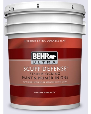 BEHR ULTRA 5 gal. #620A-1 Graceful Extra Durable Flat Interior Paint & Primer