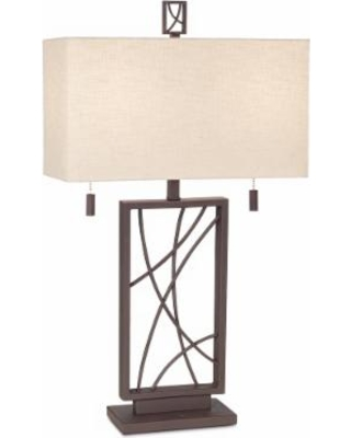 Crossroads Open Base Table Lamp by Franklin Iron Works