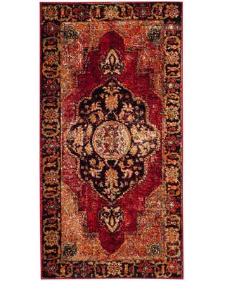 Safavieh Vintage Hamadan Red/Multi 3 ft. x 5 ft. Area Rug