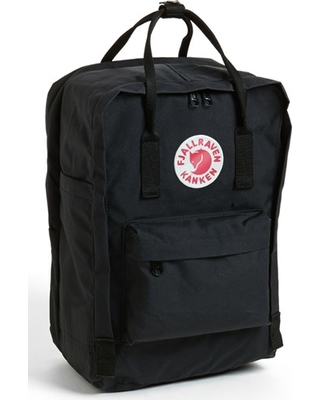 Fjallraven 'Kanken' Laptop Backpack - Black