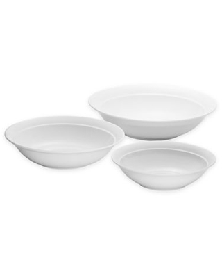 Over and Back® Clarity 3-Piece Nesting Serve Bowls