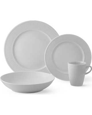 Pillivuyt Plisse Dinnerware 16-Piece Place Setting  sc 1 st  Better Homes and Gardens & New Savings are Here! 10% Off Pillivuyt Plisse Dinnerware 16-Piece ...