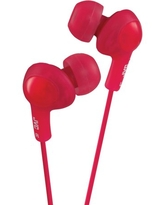 Jvc® Hafr6r Gumy Plus Earbuds With Remote & Microphone (red)