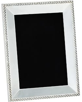 """Beaded Silver-Plated Picture Frame, 5 x 7"""""""