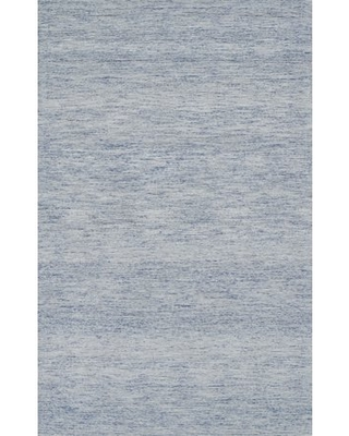 """Momeni James Hand Tufted Wool Contemporary Light Blue Area Rug 3'6"""" X 5'6"""""""