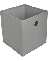 Fabric Cube Storage Bin 11 - Room Essentials, Gray