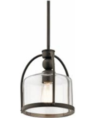 Find the best deals on kichler omerta 9 12 wide oiled bronze mini kichler omerta 9 12 wide oiled bronze mini pendant aloadofball Image collections