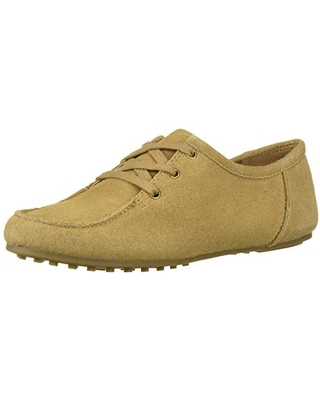 Aerosoles Women's Hard Driving Style Loafer, Tan Suede, 6.5 M US