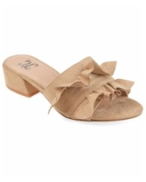 Journee Collection Women's Sabica Mules - Nude Or Na