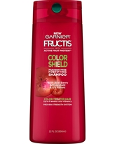 Garnier Fructis with Active Fruit Protein Color Shield Fortifying Shampoo with Acai Berry Antioxidant & UV Filters - 22oz